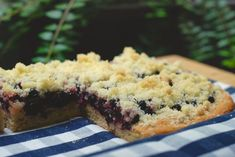Borůvkový koláč s drobenkou Food, Essen, Yemek, Meals