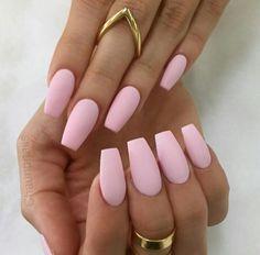 Love me some punk coffin matte nails