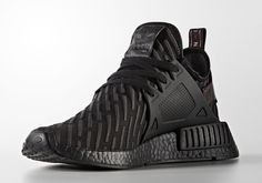 The adidas NMD XR1 Triple Black is headed to retailers featuring R2 Primeknit patterns throughout for a unique look. Release coming March 2017: