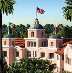 The Beverly Hills Hotel, Beverly Hills, CA...known as The Pink Palace