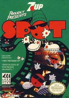 Spot: The Video Game for the NES, Gameboy, Amiga, Atari ST, DOS and the Arcade.