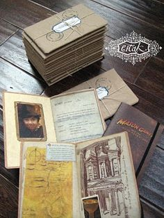 Indiana Jones Theme: Part One. One of the best Invitations that I have ever seen