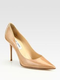 5f7ba133e29d Jimmy Choo shoes Nude Pumps, Valentino Shoes, Patent Leather Pumps, Jimmy  Choo Shoes