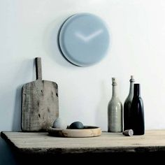 The Minimalist Blur Hazy Clock // 10 MOST Creative Clocks That You've Never Seen