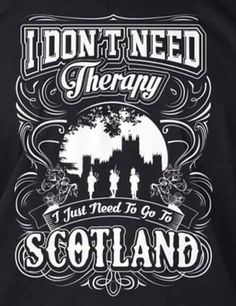 I don't need therapy ...