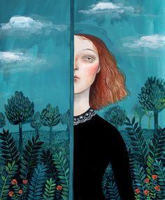 El Jardín Secreto | Pintura de Helena Perez Garcia | Flecha