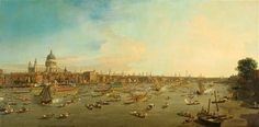 The National Maritime Museum's jubilee exhibition Royal River: Power, Pageantry and the Thames reminds us that London was not always such a quietly beautiful city, writes Richard Dorment.