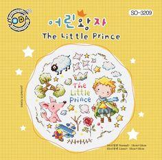 The Little Prince, Le Petit Prince, cute modern cross stitch pattern, sodastitch, counted cross stitch