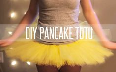 so you can have your stiff bouncy tutu! just add a wire circle to the underside of a cheap floppy tutu and sew  it on about an inch away from the outer edge of the tulle!!  HOW TO MAKE A TUTU STIFF (PANCAKE TUTU)
