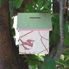 Bird house money box. Nice wren