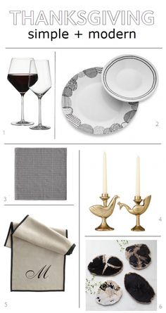 simple   modern tabletop // thanksgiving ideas // @simplifiedbee #thanksgiving