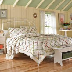 Shop for Laura Ashley Ruffled Garden Quilt. Get free shipping at Overstock.com…