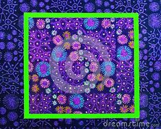 square-framed-picture-flowers-patterned-squares-colored-gel-pens