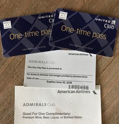 GIVEAWAY: 3 Lounges Passes (2x United 1x AA Admirals Club)