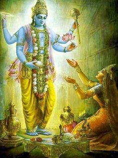 Lord Vishnu is one of the principal deities forming the Hindu trinity & also the Supreme Being in Vaishnavism. Here is a collection of Lord Vishnu Images. Krishna Lila, Krishna Art, Hare Krishna, Lord Ganesha Paintings, Krishna Painting, Lord Krishna Images, Radha Krishna Pictures, Krishna Avatar, Indiana