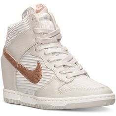 Nike Women s Dunk Sky Hi Casual Sneakers from Finish Line ( 125) ❤ liked on ea99218c6