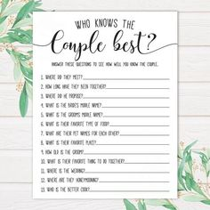 Halloween bridal shower questions for bride, . Bridal Shower Question Game, Bridal Shower Games Prizes, Bridal Shower Questions, Wedding Shower Games, Wedding Games, Bachelorette Party Games, Bridal Shower Invitations, Wedding Showers, Baby Showers