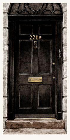 Nick Derington is raising funds for Baker Street - A hand printed Sherlock Holmes poster on Kickstarter! Celebrate the great detective with a screen printed poster of the most famous address in London -- Baker Street! Sherlock John, Sherlock Tumblr, Benedict Sherlock, Poster Sherlock, Holmes Sherlock Bbc, Sherlock Holmes Dibujos, Fan Art Sherlock, Sherlock Holmes Benedict Cumberbatch, Sherlock Quotes