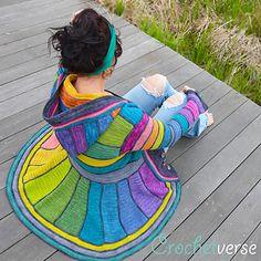 Serged Dream Coat pattern by Stephanie Pokorny