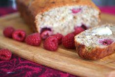 Raspberry Banana Bread : this bread is fantastic.  I need to ALWAYS make my banana bread like this.