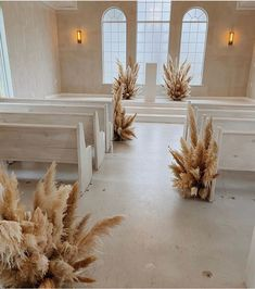 Ceremony goals ✨ Who else would walk down this aisle of pampas grass? Elegant Modern Wedding, Minimalist Wedding Decor, Minimal Wedding, Modern Boho, Wedding Isles, Wedding Set Up, Wedding Table, Boho Wedding, Wedding Isle Decorations