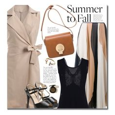 Summer To Fall Work Wear by beebeely-look on Polyvore featuring polyvore, fashion, style, Roksanda, clothing, WorkWear, waistcoat, fallfashion, falltrend and twinkledeals