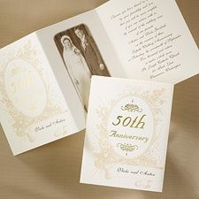 wedding anniversary party invitation wording ideas and samples for all anniversary milestones including golden 50th and 25th silver