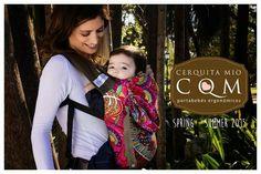 #Cerquitamio Spring / Summer 2015 #Portabebes #MochilaErgonómica #ErgonomicCarrier #Babywearing