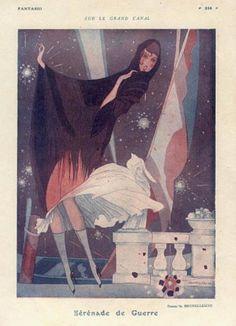 Fantasio 1916 Illustration by Umberto Brunelleschi