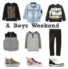 Weekend friendly fashion for Boys