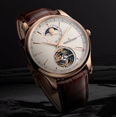 *Blog Update - Read iN!* #JaegerLeCoultre 41.5mm Master Ultra Thin Tourbillon Moon⌚️ Complicated Elegance iN Full Display!🎩🎉