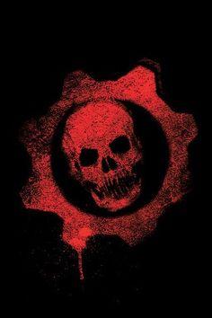 Gears of War symbol - Gamer House Ideas 2019 - 2020 V Games, Geek Games, Xbox Games, Resident Evil, Arte Viking, Gears Of War 2, Totenkopf Tattoos, War Comics, Marvel Comics