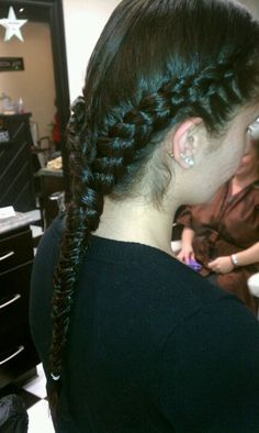 Braids and fishtail braid