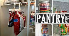 The pantry is often one of the messiest areas of the home. Put your pantry in order with these super smart pantry organization ideas.