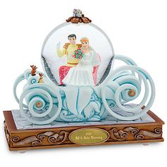 Wedding Carriage Cinderella Snowglobe - Personalizable | Snowglobes | Disney Store