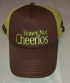 Austin Dillion RCR Honey Nut Cheerios 2014 Team Issued Pit Crew Hat Nascar New