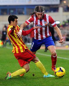 Felipe Luis of Club Atletico de Madrid