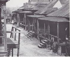 "Walker Evans photo of Atlanta's ""Negro Quarter,"" 1936"
