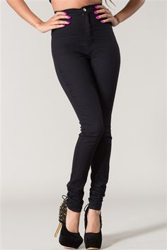 New High Waist Pant! ShopPriceless.com