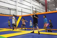"The iTrampoline ""indoor family fun park"" is a 28,000-square-foot warehouse in an industrial part of Kapolei, where trampolines cover half the floor space and part of the walls. You can literally bounce off the walls there. – HONOLULU Magazine"