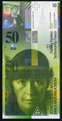 Switzerland banknotes CHF 50 Swiss francs banknote of 2004 Sophie Taeuber-Arp Swiss National Bank Schweizerische Nationalbank . United Nations Human Rights, Money Template, Swiss Bank, Money Notes, World Coins, Branding, Financial Literacy, Switzerland, Textile Art