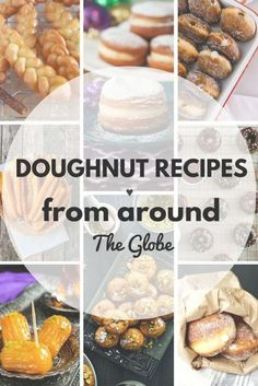 Are you tired of the same old doughnuts and wanna spice things. Are you tired of the same old doughnuts and wanna spice things up? Take a look of these 10 doughnut recipes from around the world! Donut Recipes, Cooking Recipes, Great Recipes, Favorite Recipes, Interesting Recipes, Amazing Recipes, Easy Recipes, Vegan Recipes, Delicious Desserts