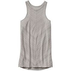 Illuminate Tank - The ultra-chic, high-neck tank with a semi-sheer stripe thats at its best when layering.