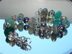 Lithuanian girls Trollbeads bracelets