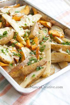 Roasted Italian Potatoes