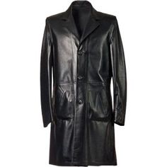 Dress to impress with a smart and sophisticated unlined mens nappa leather coat which is light and easy to wear. Italian Leather Jackets, Mens Leather Coats, Long Leather Coat, Men's Leather Jacket, Harley Davidson Leather Jackets, Best Blazer, Blazers, Aviator Jackets, Long Trench Coat