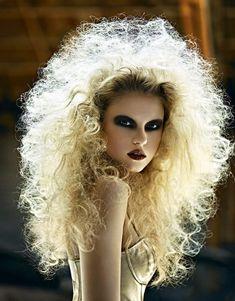 GOTH!     for anne <3       Model: Adeele Rassel  Hair: Damien Carney Professional  Makeup: Anthony Merante Beauty  Top: Badgley Mischka  Photographer: Giuliano Bekor