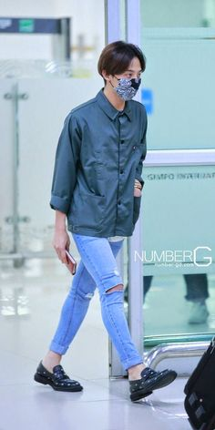 G-Dragon @ Airport fashion 140721