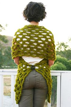 Crochet Pattern  The Any Way Wrap pattern by TwigAndString on Etsy, $5.00