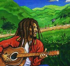 5 Reasons to Listen to Bob Marley in the Morning - Artist Waves – a voice of the artist platform Bob Marley Painting, Jamaican Art, Reggae Art, What About Bob, Nesta Marley, Photo Finder, Fun To Be One, Street Art, Photo And Video